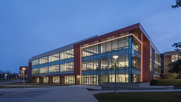 Harper College Library - exterior