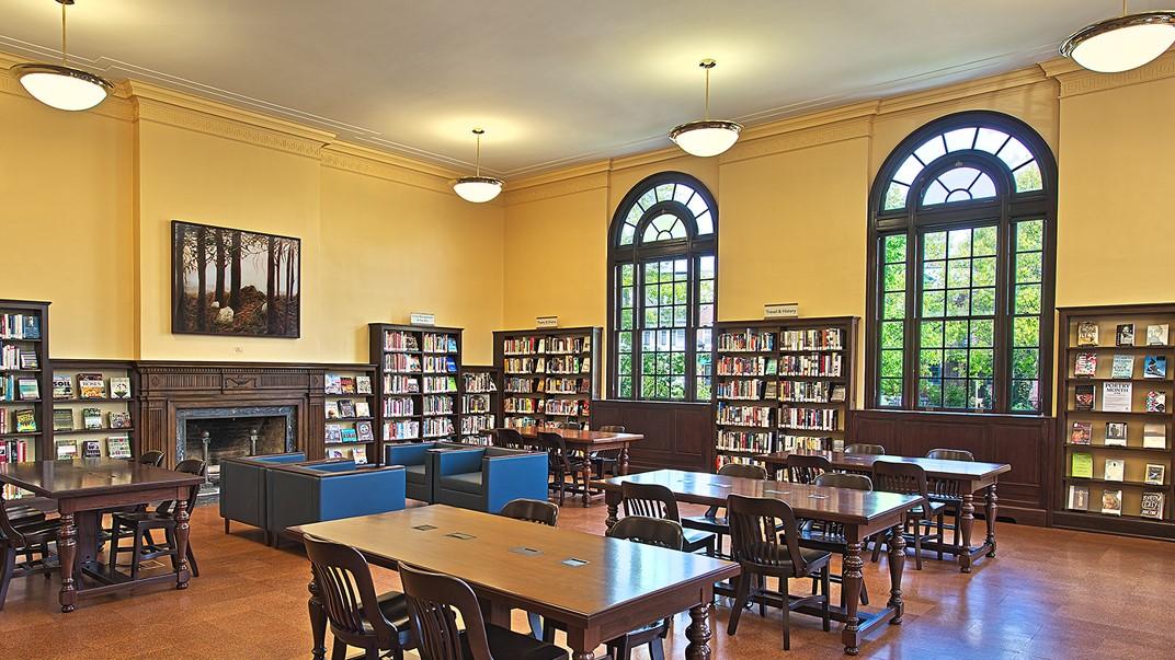 Northeast Neighborhood Library - reading