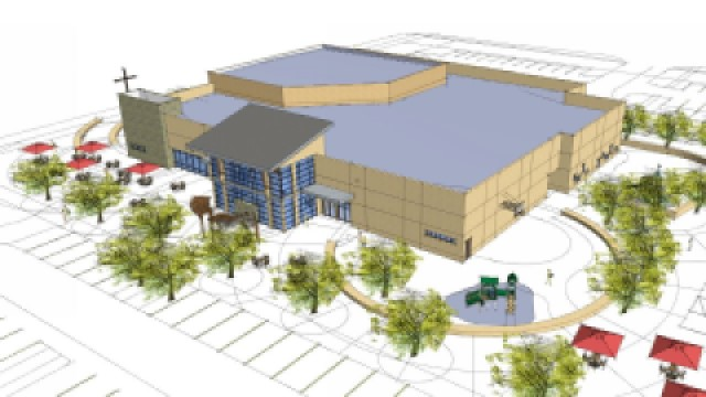Parkview Church Rendering